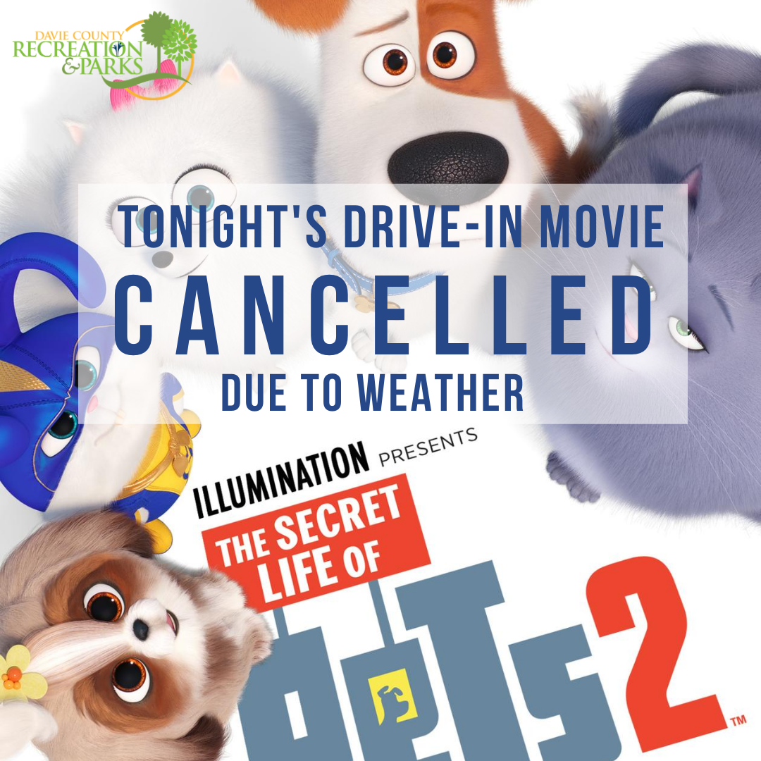 Drive-in Movie Cancelled