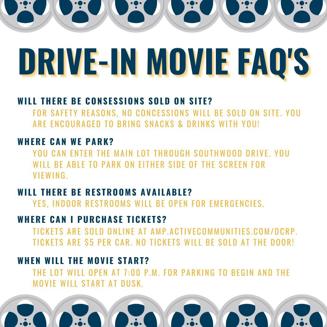 Drive In Movie FAQs