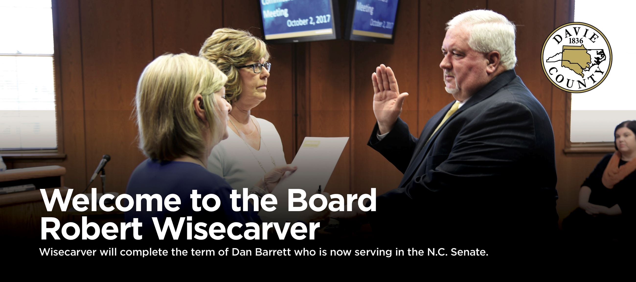 Welcome to the Board Robert Wisecarver