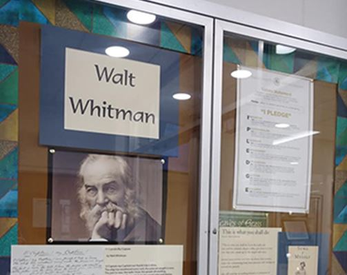 Walt Whitman Display