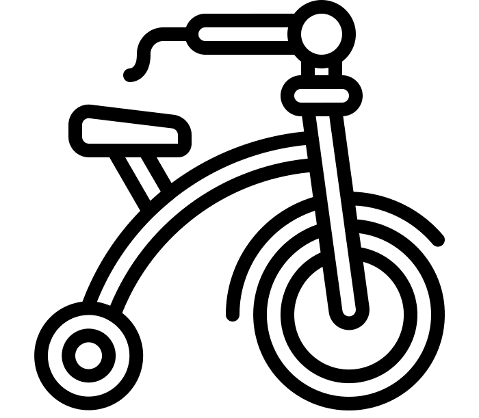 Kids Pedal Parade Icon